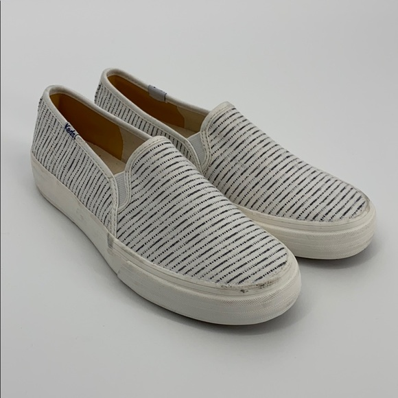 Keds Striped Slip On Sneakers